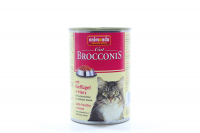 Корм Brocconis птиця та серце для котів 400г х6.