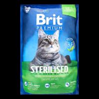 Корм Brit Premium д/стерилізованих котів сухий 1,5кг х2