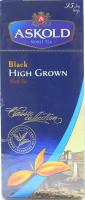 Чай Askold чорний Високогірний 25пак.*2г х10