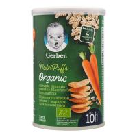 Снеки Gerber пшенично-вівсяні морква-апельсин 35г х15