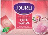 Мило тверде Duru Fresh Sensations Квіткова хмара, 4 шт.*150 г