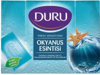 Мило тверде Duru Fresh Sensations Океанський бриз, 4 шт.*150 г