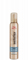 Мус для волосся Wellaflex Миттєвий Об'єм Сильна Фіксація 3, 200 мл