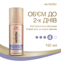 Спрей Wellaflex для волосся екстрасильна фіксація 150мл