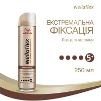 Лак для волосся Wellaflex Power Hold Екстремальна Фіксація 5+, 250 мл