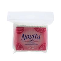 Палички Novita Soft ватні гігієнічні 260шт х28