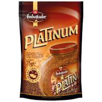 Кава Ambassador Platinum розчинна сублімована75г
