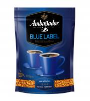 Кава Ambassador Blue Label натуральна розчинна 120г