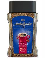 Кава Ambassador Strong розчинна 190г