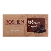 Шоколад Roshen Original чорний 90г х22