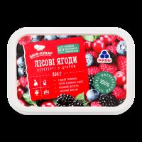 Лісові ягоди Рудь перетерті з цукром 350г х10