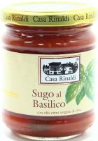 Соус Casa Rinaldi томатний з базиліком 190г