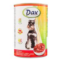 Консерва для собак DAX яловичина 415г