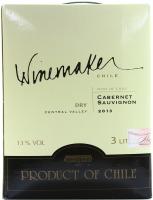 Вино Winemaker B&B Cabernet Sauvignon червоне сухе 3л х2