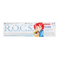 """Зубна паста дитяча R.O.C.S. Kids 3-7 """"Фруктовый Ріжок"""", 45 г"""