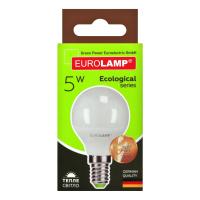 Лампа Eurolamp LED 5W E14 3000K арт.G45-05143(Р) x10
