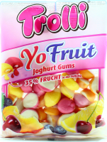 Цукерки Trolli Yo Fruit 200г х18