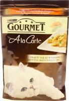 Корм Gourmet Ala Carte для котів з індичкою 85г х6