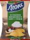 Чіпси Люкс зі смаком вершкового сиру і грибів 133г
