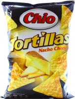 Чіпси Chio Tortillas зі смаком сиру 125г