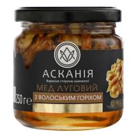Мед Асканія Луговий з волоським горіхом 250г х12