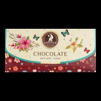 Шоколад Солодкий світ Клатч чорний з сезамом 70г