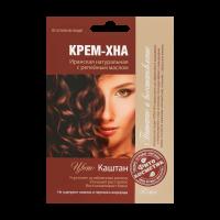 Крем-хна Fitokoсмeтиk Каштан з реп.олією 50мл х6