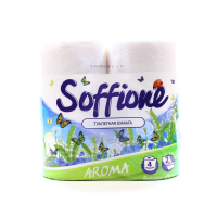 Папір туалетний Soffione Aroma Spring Morning 2шар. 4шт.