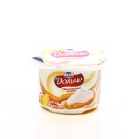 Йогурт Lactel Дольче двошаровий персик-маракуя 3,2% 115г х12