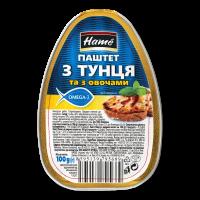 Паштет Hame з тунця та з овочами 100г х16