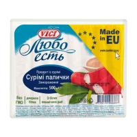 Сурімі палички Vici Любо есть заморожені 500г