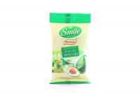 Серветки Smile Herbalis вологі з олією авокадо 10шт. х6