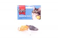 Іграшка Topsi для котів Миша(2шт) арт.1669