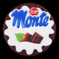 Десерт Zott Monte з шоколадом та лісовими гріхами 150г х24