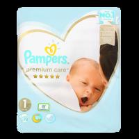 Підгузники Pampers Premium care 1 2-5кг 78шт.