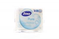 Папір туалетний Zewa Pure вологий 42шт х6