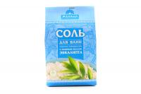 Сіль для ванн Морська натуральна Евкаліпт 500г х6