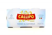 Тунець Callipo Ієлоуфін у власному соку 2*160г