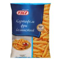 Картопля фрі Vici хвиляста 750г х14
