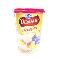 Десерт Lactel Дольче персик 3,4% 400г х12