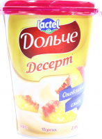 Десерт Lactel Дольче Персик 3,4% 400г х6
