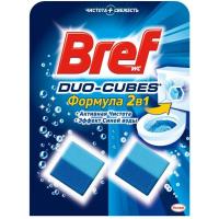 Чистячі кубики для зливного бачка Bref Duo-Cubes Активна Чистота 2в1, 2 шт.