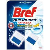 Чистячі кубики для зливного бачка Bref Duo-Cubes Гігієна 2в1, 2 шт.