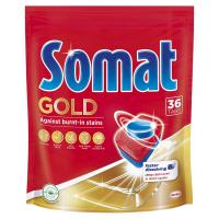 Таблетки для посудомийних машин Somat Gold, 36 штук