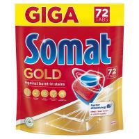 Таблетки для посудомийних машин Somat Gold, 72 шт.