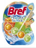 """Туалетний блок Bref Perfume Switch """"Соковитий персик/Яблуко"""", 50 г"""