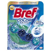 "Туалетний блок Bref Color Aktiv ""Евкаліпт"", 50 г"