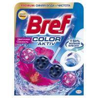 """Туалетний блок Bref Color Aktiv """"Квіткова свіжість"""", 50 г"""