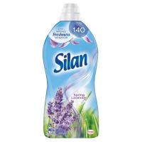 Кондиціонер-ополіскувач безфосфатний для тканин Silan Весняна лаванда, 1,8 л