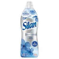 """Кондиціонер-ополіскувач безфосфатний для тканин Silan Fresh Control """"Свіжість прохолоди"""", 800 мл"""